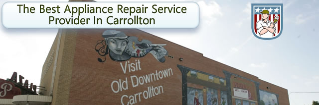 Schedule your appliance service appointment in Carrollton, TX 75007 today.